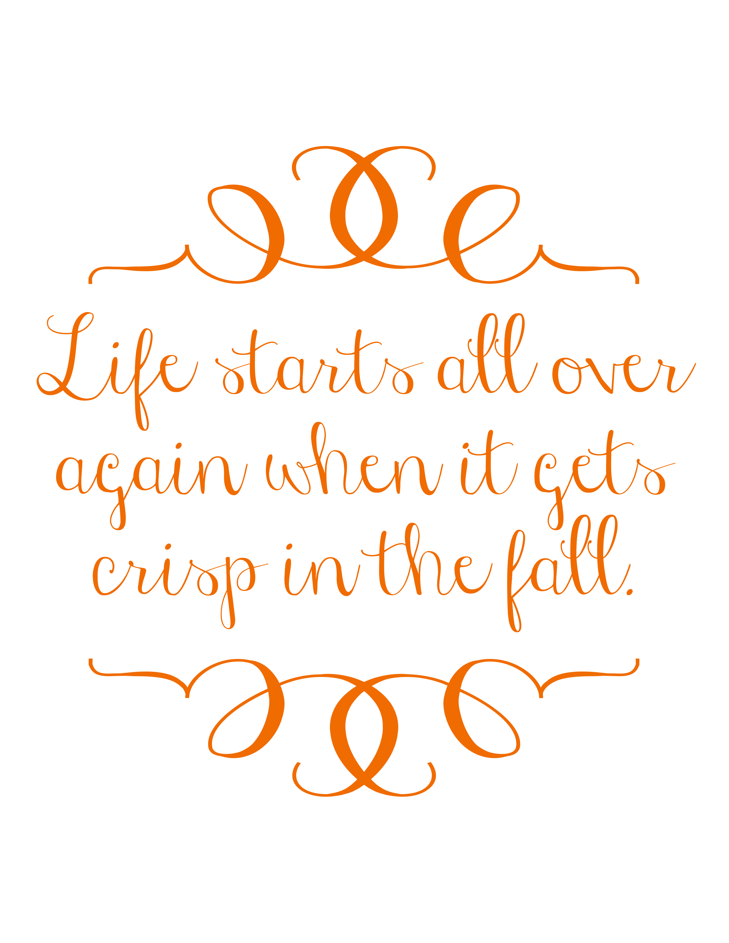 Each Is A Quote From F. Scott Fitzgeraldu0027s The Great Gatsby About Fall!  Theyu0027re All Designed To Be 8.5in X 11in Full Size..but Theyu0027d Be Super Cute  Framed ...