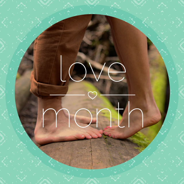 Love Month Concept